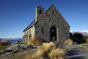 Church of the Good Shepherd, Lake Tekapo, Mackenzie Country, South Island, New Zealand by David Wall