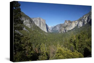 El Capitan, Half Dome, and Bridalveil Fall, Yosemite NP, California