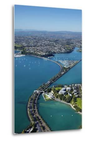 Judges Bay, Tamaki Drive and Waitemata Harbour, Auckland, North Island, New Zealand