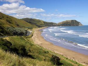 Makorori Beach near Gisborne, Eastland, New Zealand by David Wall