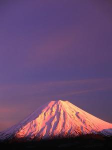 Mt. Ngauruhoe, Conical Single-Vent Volcano, Tongariro National Park, Manawatu-Wanganui, New Zealand by David Wall