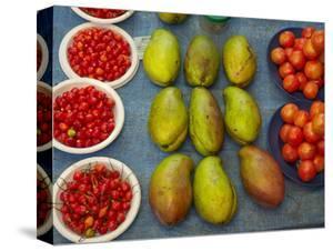 Nadi Produce Market, Nadi, Viti Levu, Fiji, South Pacific by David Wall