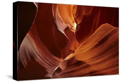 Navajo Nation, Eroded Sandstone Formations in Upper Antelope Canyon