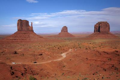 Navajo Nation, Monument Valley, Mittens and Valley Scenic Drive by David Wall