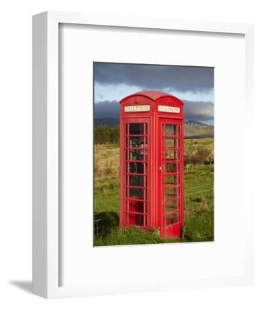 Public Phone Box, Ellishadder, Near Staffin, Trotternish Peninsula, Isle of Skye, Scotland