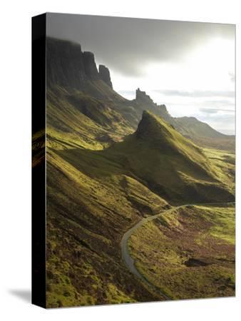 Road Ascending the Quiraing, Isle of Skye, Scotland