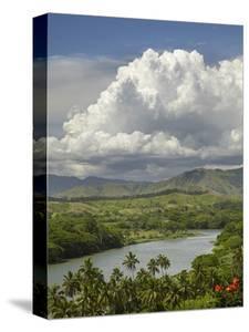 Sigatoka River, Lower Sigatoka Valley, Coral Coast, Viti Levu, Fiji, South Pacific by David Wall