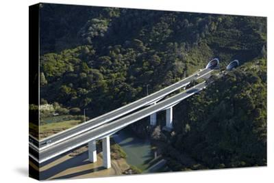 State Highway One at Waiwera Viaduct and Johnstone's Hill Tunnels, North Auckland, New Zealand