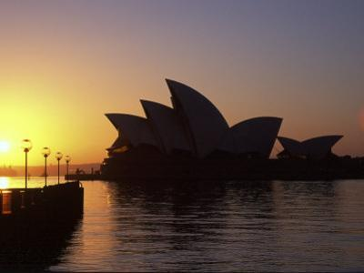 Sydney Opera House at Dawn, Sydney, Australia by David Wall