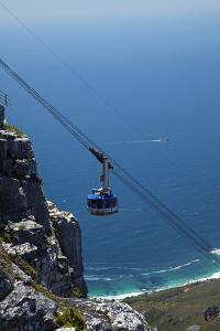 Table Mountain Aerial Cableway, Cape Town, South Africa by David Wall
