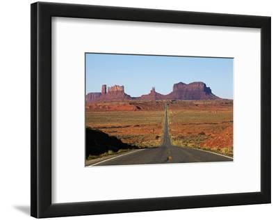 Utah, Navajo Nation, U.S. Route 163 Heading Towards Monument Valley