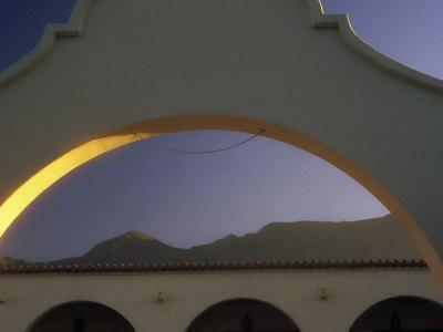 Arch and Mountain at Dawn, Ojai, CA
