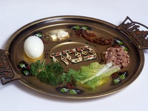 Ceremonial Seder Plate by David Wasserman