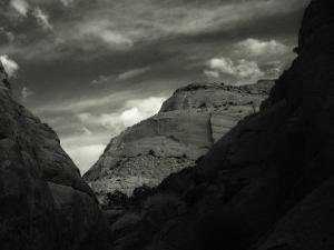 Chimney Rock Canyon, Capitol Reef National Park, Utah by David Wasserman