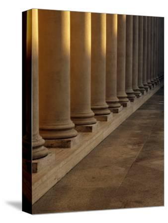 Pillars at Sunset