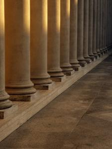 Pillars at Sunset by David Wasserman