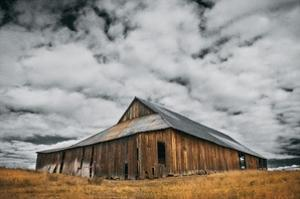 Siskiyou County Barn by David Winston