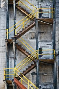 Yellow Railings by David Winston