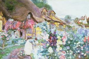 The Cottage Garden by David Woodlock