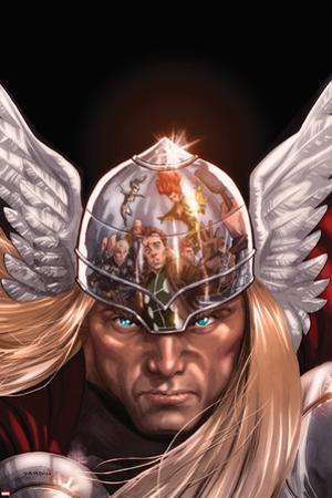 X-Factor No.212 Cover: Thor Posing by David Yardin
