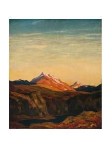'Ben Cruachan', c1922 by David Young Cameron