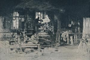 'The Workshop, Stirling', 1905 by David Young Cameron