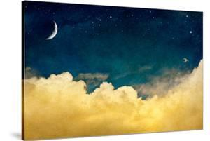 Moon And Cloudscape by DavidMSchrader