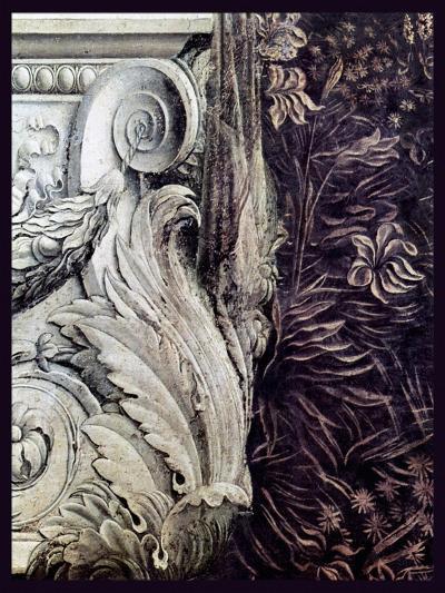 DaVinci Cornice 2-Vintage Lavoie-Giclee Print