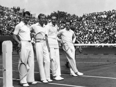 Davis Cup Players--Photographic Print
