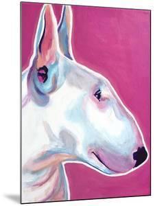 Bull Terrier - Bubble Gum by Dawgart