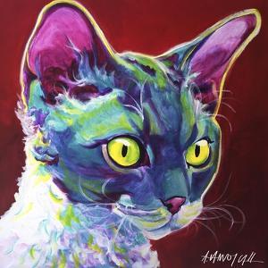 Cat - Devon Rex by Dawgart