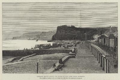 Dawlish, South Devon, the Scene of the Late Fatal Accident--Giclee Print
