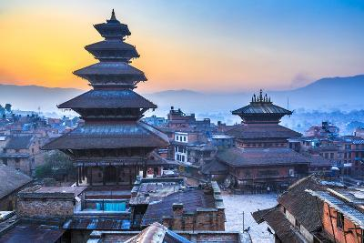 Dawn at Bhaktapur, Nepal-Feng Wei Photography-Photographic Print