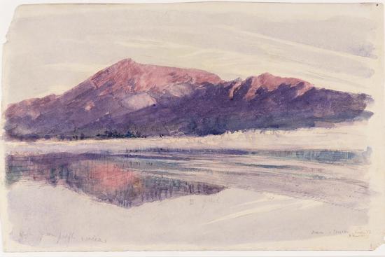 Dawn Coniston, 1873-John Ruskin-Giclee Print