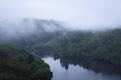 Dawn, Crozant Castle and the River Creuse, Limousin, France, Europe-Jean Brooks-Photographic Print