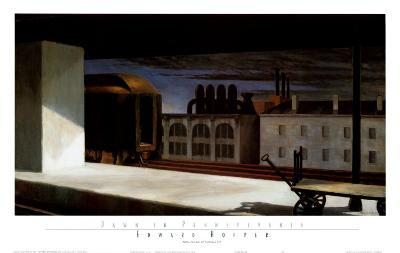 Dawn in Pennsylvania-Edward Hopper-Art Print