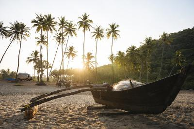 Dawn Light at Agonda Beach, Goa, India, South Asia-Ben Pipe-Photographic Print