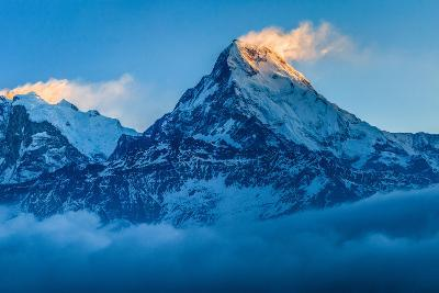Dawn Light over Annapurna, Nepal-Feng Wei Photography-Photographic Print