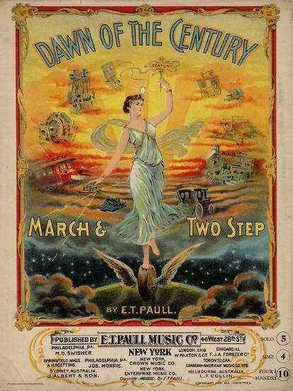 Dawn of the Century March & Two Step, Sam DeVincent Collection, National Museum of American History--Art Print