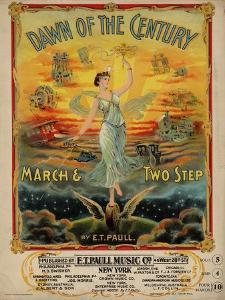 Dawn of the Century March & Two Step, Sam DeVincent Collection, National Museum of American History