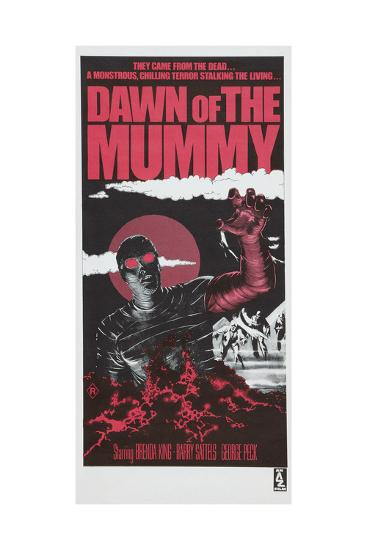 Dawn of the Mummy, Australian poster art, 1981--Art Print