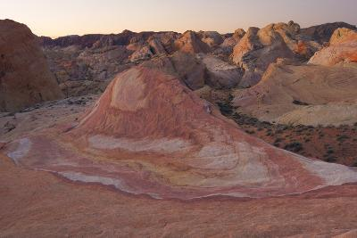 Dawn Over A Unique Multi Colored Formation Known As Crazy Hill In Valley Of Fire State Park, Nevada-Austin Cronnelly-Photographic Print