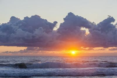 Dawn over the Atlantic Ocean at Coast Guard Beach , Eastham, Massachusetts-Jerry and Marcy Monkman-Photographic Print