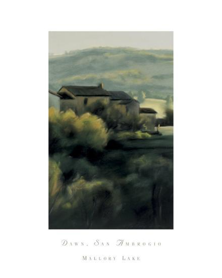 Dawn, San Ambrogio-Mallory Lake-Art Print