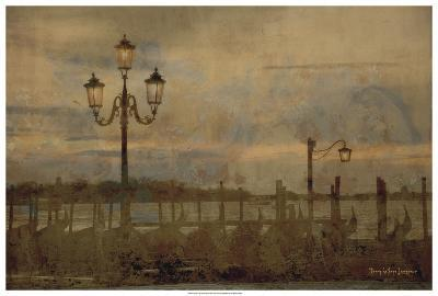 Dawn & the Gondolas I-Terry Lawrence-Art Print