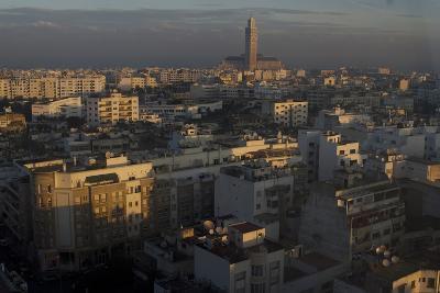 Dawn View over Casablanca, Morocco-Natalie Tepper-Photo