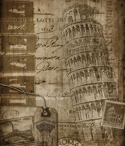 Italian Collage by Dawne Polis