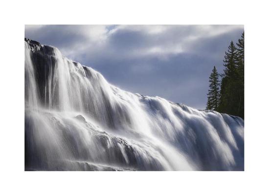 Dawson Falls II-Donald Paulson-Giclee Print