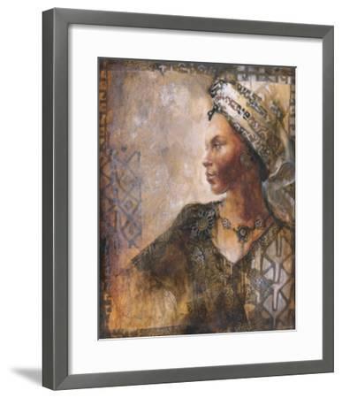 Raffia Robed Lady I