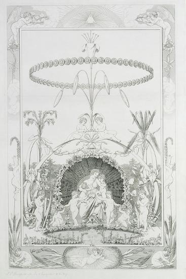 Day, 1805-Philipp Otto Runge-Giclee Print